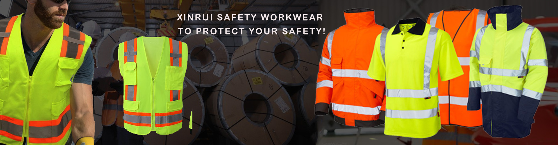 We are the manufactuer which specialized in making safety vest, safety t-shirt, rain jacket,