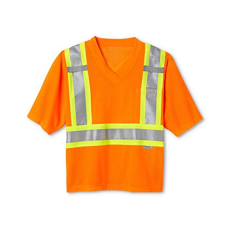ANSI Class 2 Work Safety Short Sleeve Hi-Vis T-Shirt