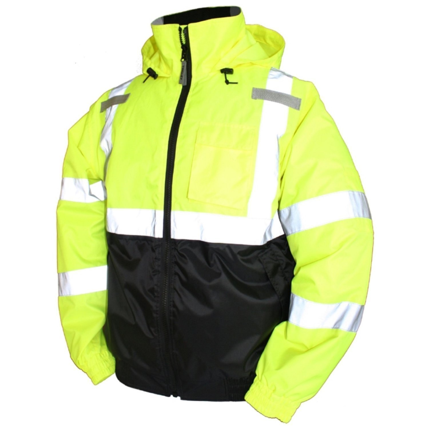 Class 3 ANSI Approved high-Vis Bomber Jacket
