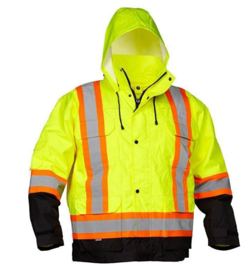 Class 3 ANSI 4-IN-1 SAFETY PARKA