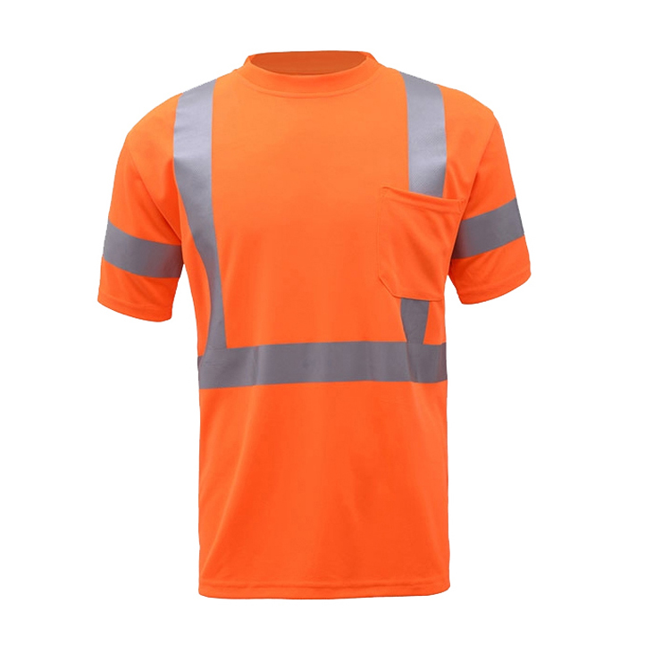 Safety Hi-Vis Class 2 Reflective Safety T-Shirt