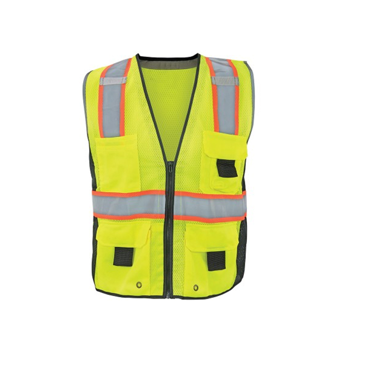Surveyor Type R Class 2 Lime Mesh  Safety Vest